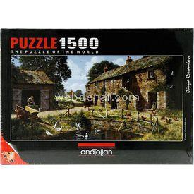 Anatolian 1500 Parça  Köy Yaşamı Puzzle