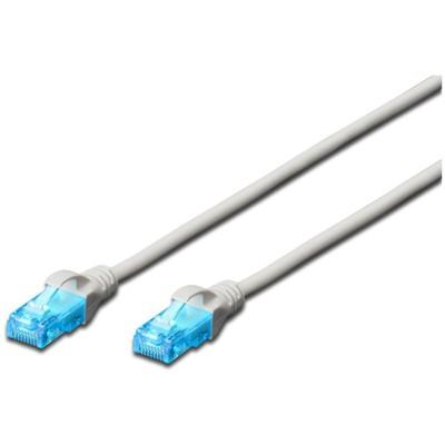 Digitus AK-1512_020 2 Metre UTP CAT5E Patch Kablo Gri Renk Network Kablosu