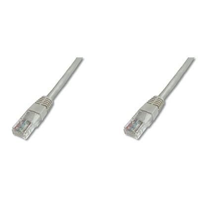 Digitus AK-1512_020 2 Metre UTP CAT5E Patch 0 Gri Renk Network Kablosu
