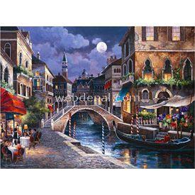 Anatolian 1000 Parça  Venedik Sokakları Puzzle