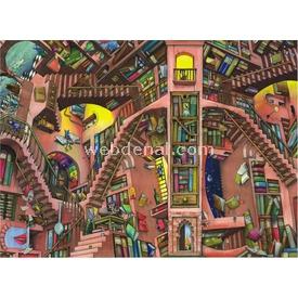 Anatolian 1000 Parça  Kütüphane Puzzle