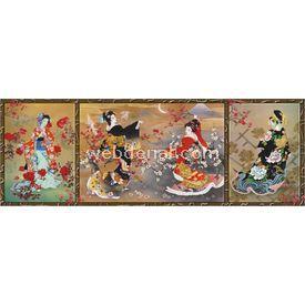 Anatolian 1000 Parça  Geyşa Üçlemesi Puzzle