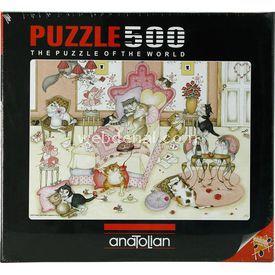 Anatolian 500 Parça  Sevgililer Günü Puzzle
