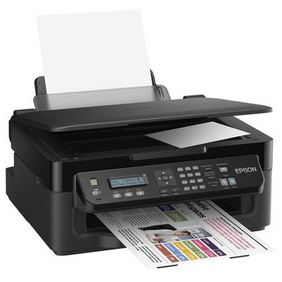 Epson C11CC58303 WorkForce WF-2510WF, A4 all-in-one, Scan/Print/Copy/Fax functions; 4 new  Mürekkep Püskürtmeli Yazıcı