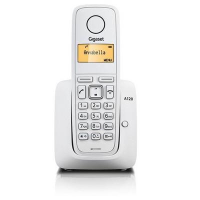 Gigaset A120 Dect Telefon Beyaz Telsiz Telefon
