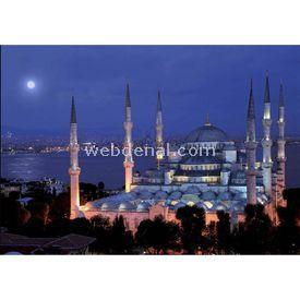 Anatolian 1000 Parça Neon  Sultanahmet Camii Puzzle