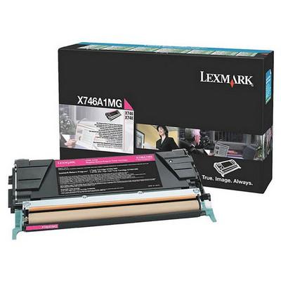 Lexmark X746A1MG Kırmızı Toner