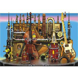Anatolian 1500 Parça  Müzik Kalesi Puzzle