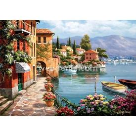 Anatolian 1500 Parça  Villa De Lago Puzzle