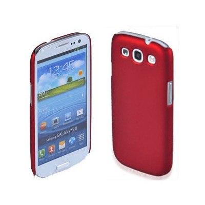 Microsonic Rubber Kılıf Samsung Galaxy Grand I9082 Kırmızı Cep Telefonu Kılıfı