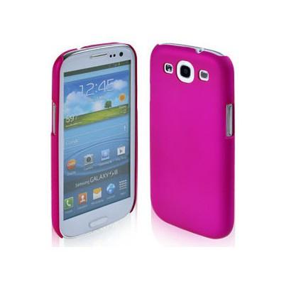 Microsonic Rubber Kılıf Samsung Galaxy Grand I9082 Pembe Cep Telefonu Kılıfı