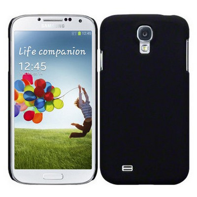 Microsonic Rubber Kılıf Samsung Galaxy S4 Iv Siyah Cep Telefonu Kılıfı