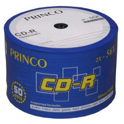 Princo Cd-r 56x 700mb 50'li Shing Paket CD/DVD