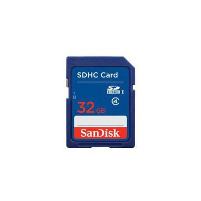 SanDisk 32GB SD Kart CL4 SDSDB-032G-B35