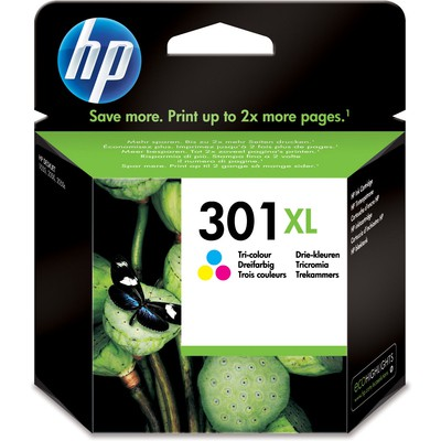 HP 301XL Renkli Kartuş CH564EE