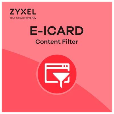 Zyxel Usg 1000 Icard Content Fılter 1 Yıl Firewall