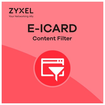 Zyxel USG 300 ICARD CONTENT FILTER 1 YIL Firewall