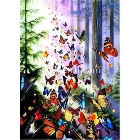 Anatolian 1000 Parça  Kelebek Ormanı Puzzle