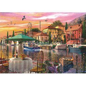 Anatolian 3000 Parça  Limanda Günbatımı Puzzle