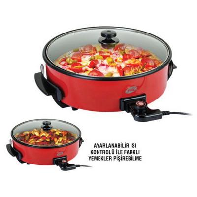 Goldmaster GMP-7404 Napoli Pizza Tavası - Kırmızı