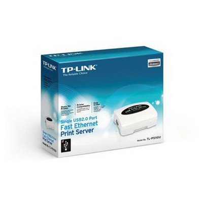 Tp-link TL-PS110U Tek USB2.0 Portlu Fast Ethernet Print Server