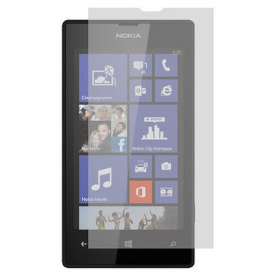 Microsonic Ultra Şeffaf  - Nokia Lumia 520 Ekran Koruyucu Film