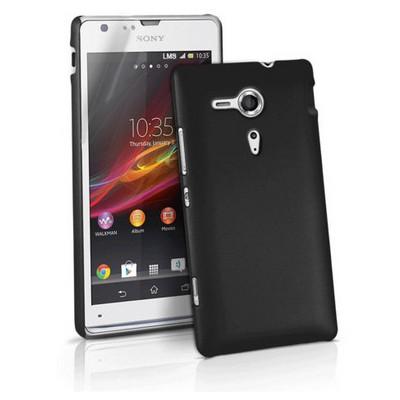 Microsonic Rubber Kılıf Sony Xperia Sp Siyah Cep Telefonu Kılıfı