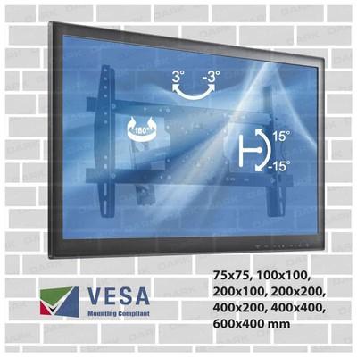 """Dark Dk-ac-vt31 32""""-70"""" Hareketli Duvar Tv Askı Aparatı Televizyon Aksesuarı"""
