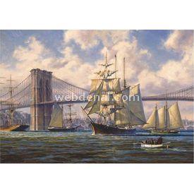 Anatolian 2000 Parça  Brooklyn Köprüsünde Geçiş Puzzle
