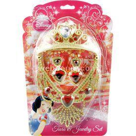 Necotoys Pamuk Prenses 4 Parça Taç Ve Takı Seti Kostüm & Aksesuar