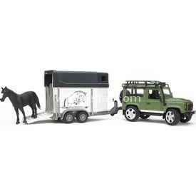 Bruder Land Rover Arazi Aracı Ve At Nakil Aracı Erkek Çocuk Oyuncakları