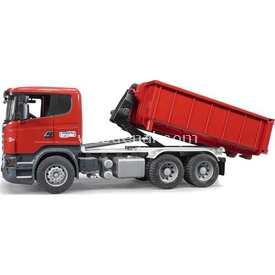 Bruder Scania R-serisi Damperli Ayrılabilen Kamyon Erkek Çocuk Oyuncakları