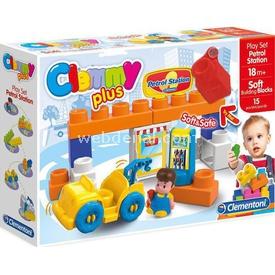 Clementoni Clemmy Plus Yakıt Istasyonu Soft Bloklar Oyun Seti 15 Parça Lego Oyuncakları