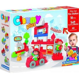 Clementoni Clemmy Plus Soft Itfaiye Oyun Seti 40 Parça Lego Oyuncakları