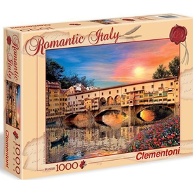 Clementoni 1000 Parça  Romantik Italya Firenze Puzzle