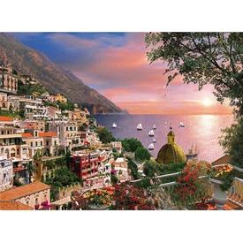 Clementoni 1000 Parça  Romantik Italya Positano Puzzle