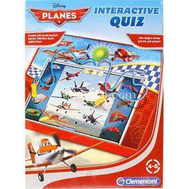 Clementoni Interactıve Quız Bilgi Yarışması Planes Eğitici Oyuncaklar