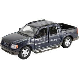 Maisto Ford Explorer Sport Trac 1:25 Model Araba Siyah Arabalar