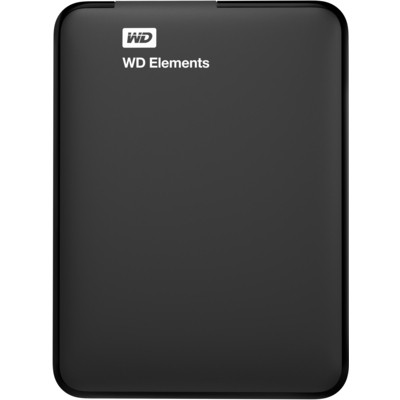 "WD Elements 1TB Western Digital WDBUZG0010BBK-EESN 2.5"" Usb3.0/2.0"