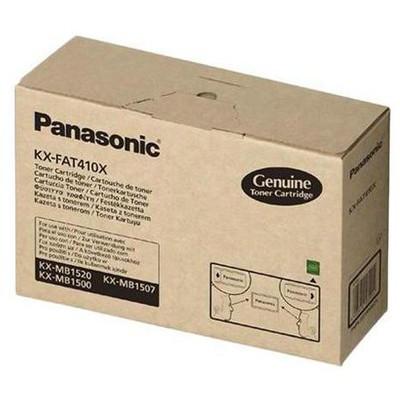 Panasonic Kx-fat410x Mb-1500 / Mb-1520 / Mb-1530 / Mb-1536 Sıyah  (2.500 Sayfa) Toner