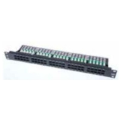 AMP Patch Panel 50 Port Hd Telephone Sıyah Ağ / Modem Aksesuarı