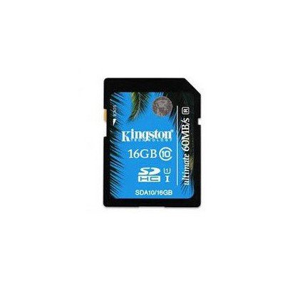 Kingston 16GB  C10 UHS-I SDA10/16GB SDHC