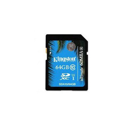 Kingston 64GB  CLASS 10 UHS-I ULTİMatE FLASH CARD SDA10-64GB SDHC
