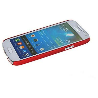 Microsonic Rubber Kılıf Samsung Galaxy S4 Mini I9190 Kırmızı Cep Telefonu Kılıfı