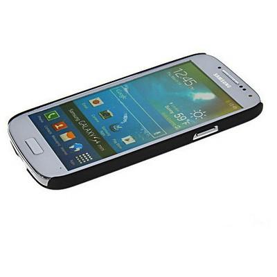 Microsonic Rubber Kılıf Samsung Galaxy S4 Mini I9190 Siyah Cep Telefonu Kılıfı