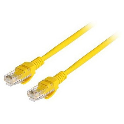 Frisby Fa-c5e02 Cat-5e Utp Patch Kablo Sarı (5m) Network Kablosu