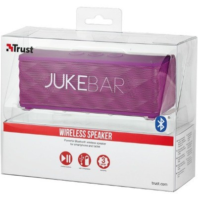 Trust 19315 Jukebar Wireless  - Mor Speaker