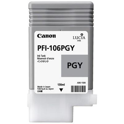 Canon PFI-106PGY Parlak Gri Kartuş