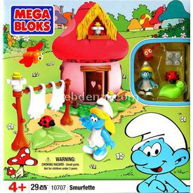 Mega Bloks Şirinler Şirine Oyun Seti Kız Çocuk Oyuncakları