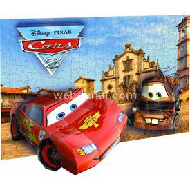 Mega Puzzles 200 Parça 3d  Breakthrough Cars 2 Puzzle